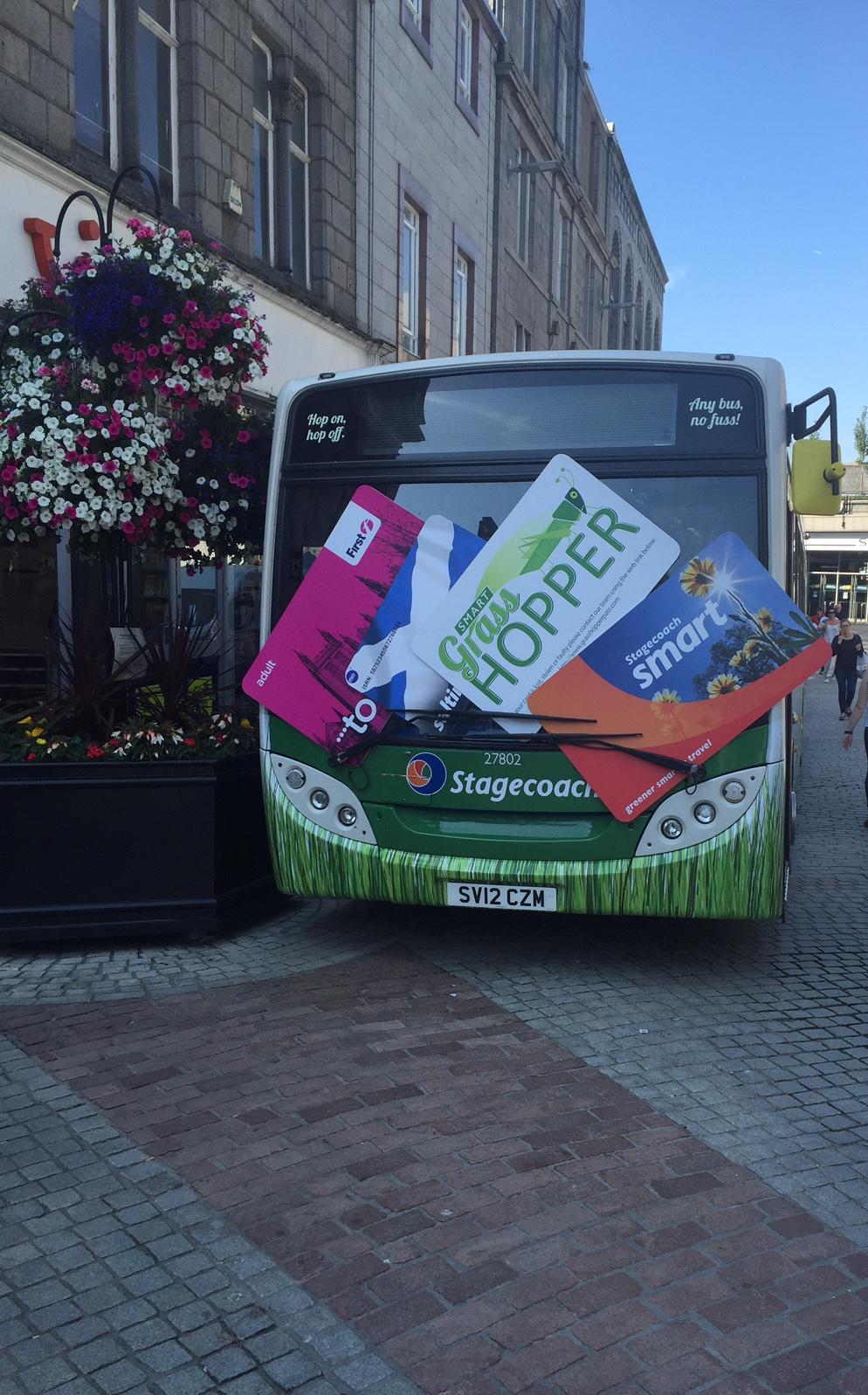 SMART grasshopper bus